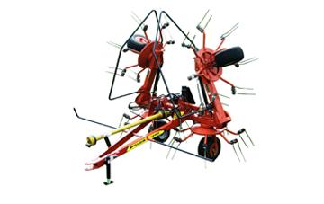 HT4102 Turbo Tedder