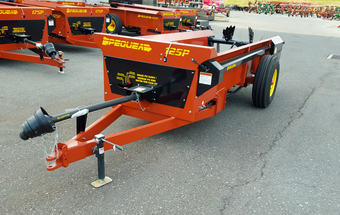 125P Box Manure Spreader