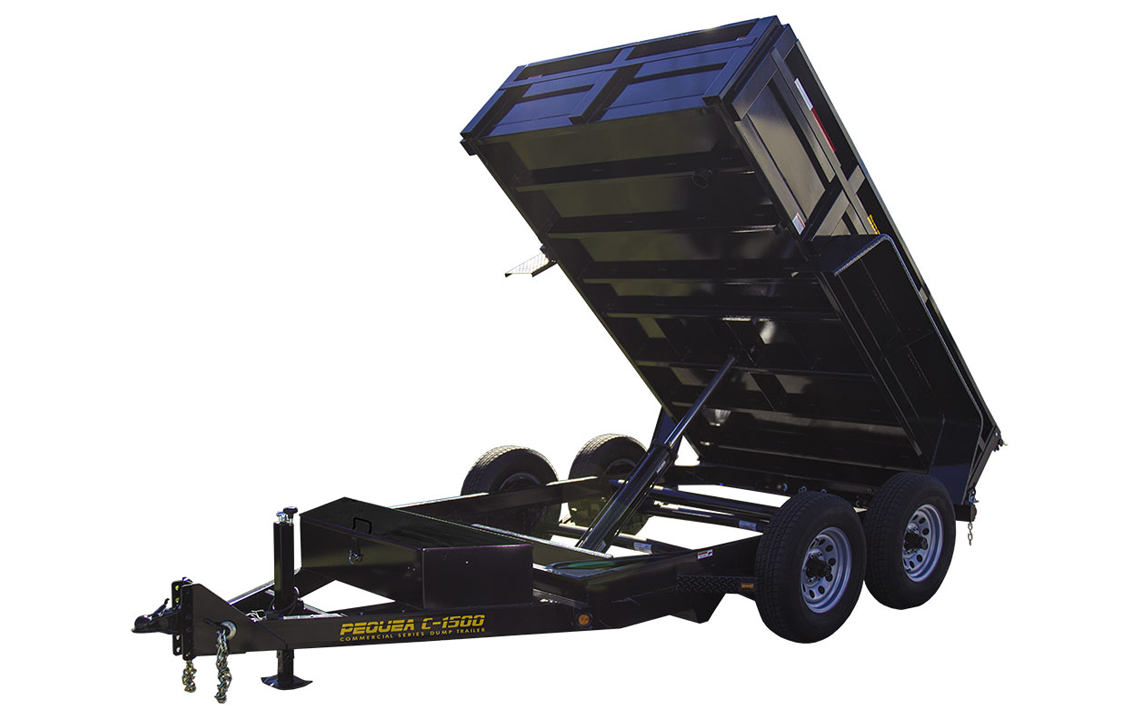 C1500 Dump Trailer Features