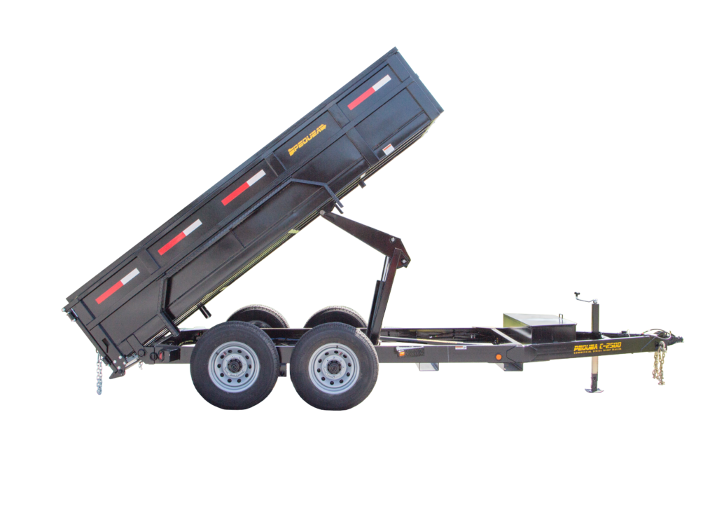 C2500 Dump Gooseneck Trailer Features