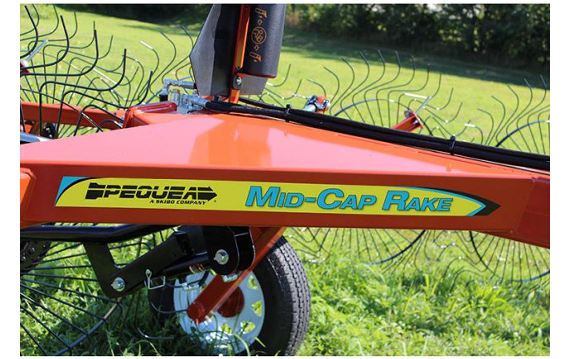 MCR Wheel Rake Features